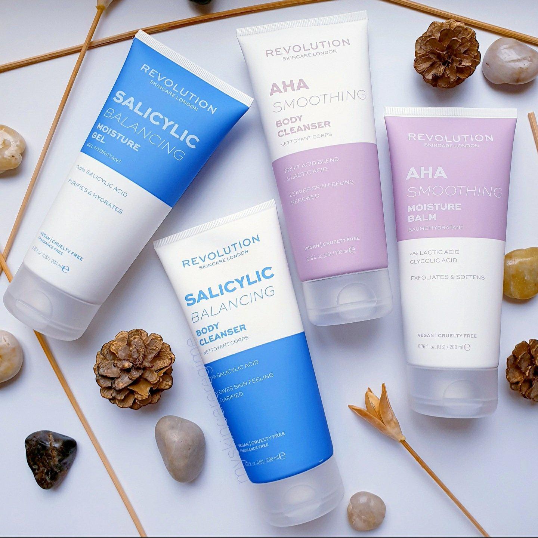Revolution Skincare AHA / BHA + Vitamin C Body Care [First Impressions +  SWATCHES!] – My Skincare Regime